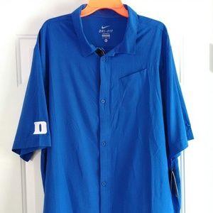 NIKE Dri-Fit Duke Blue Devils Short Sleeve Shirt